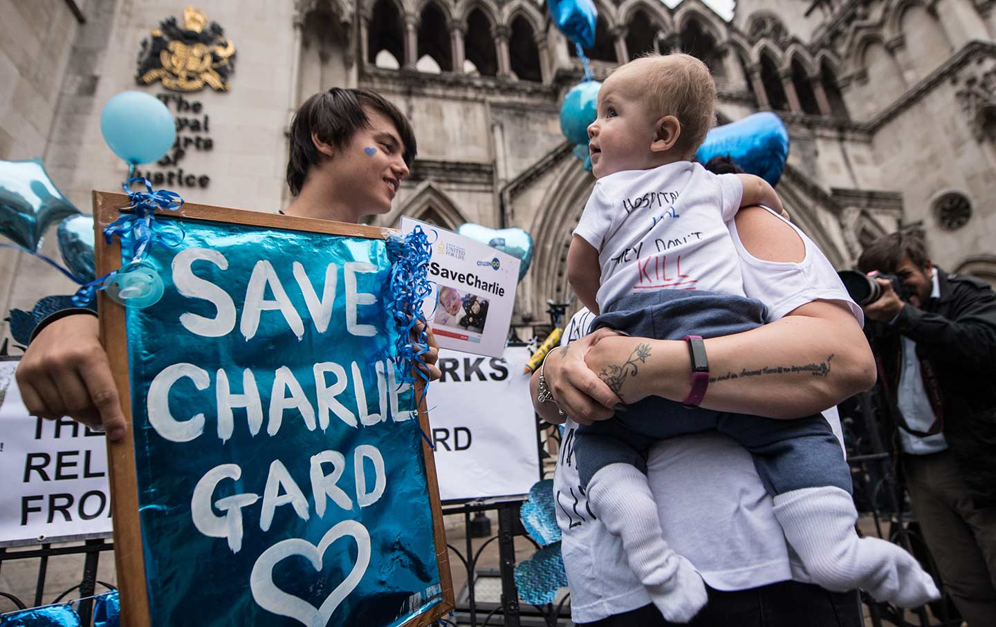 Charlie Gard Protest