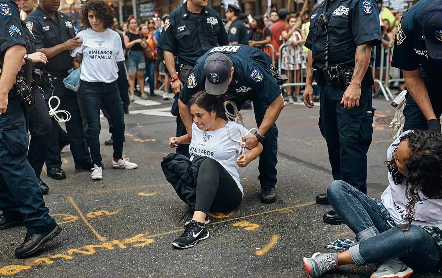 Cosecha Protests in New York City