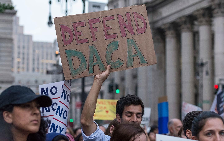 Defend DACA Protesters