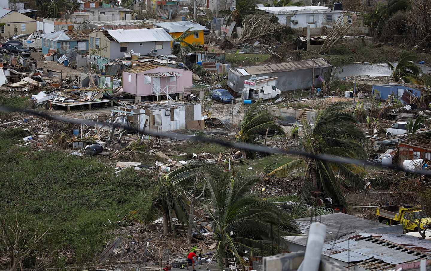 Puerto rico needs massive emergency aid now and an end to austerity the nation - Huracan maria en puerto rico ...