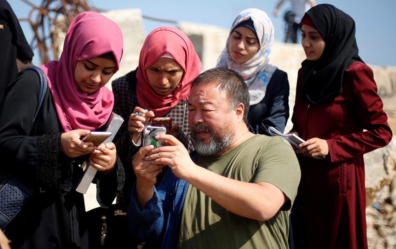 Ai WeiWei Gaza