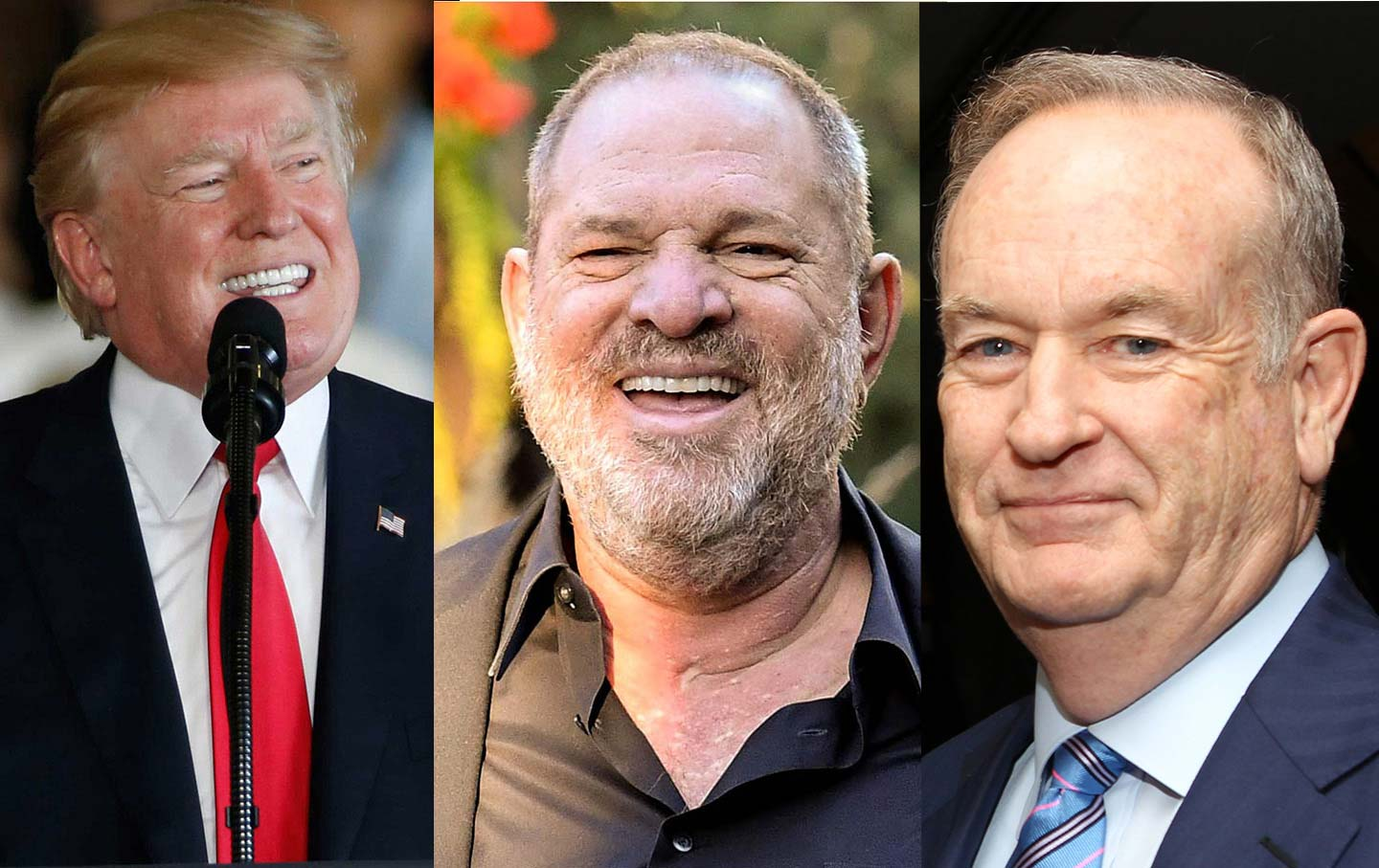 Trump, Weinstein and O'Reilly