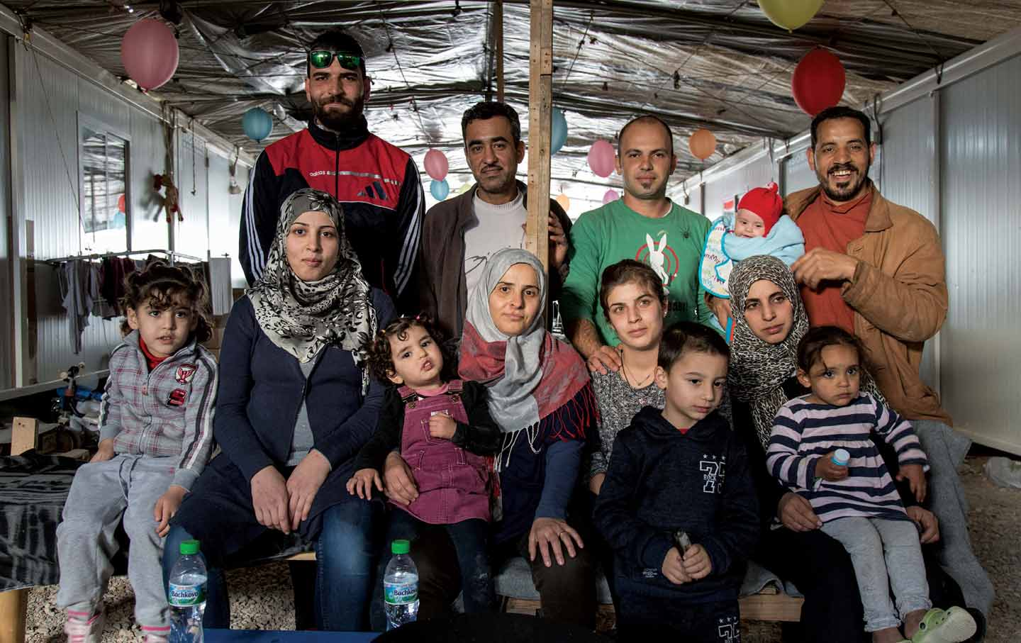 How Food Brought an Unlikely Group of Syrian Refugees Together