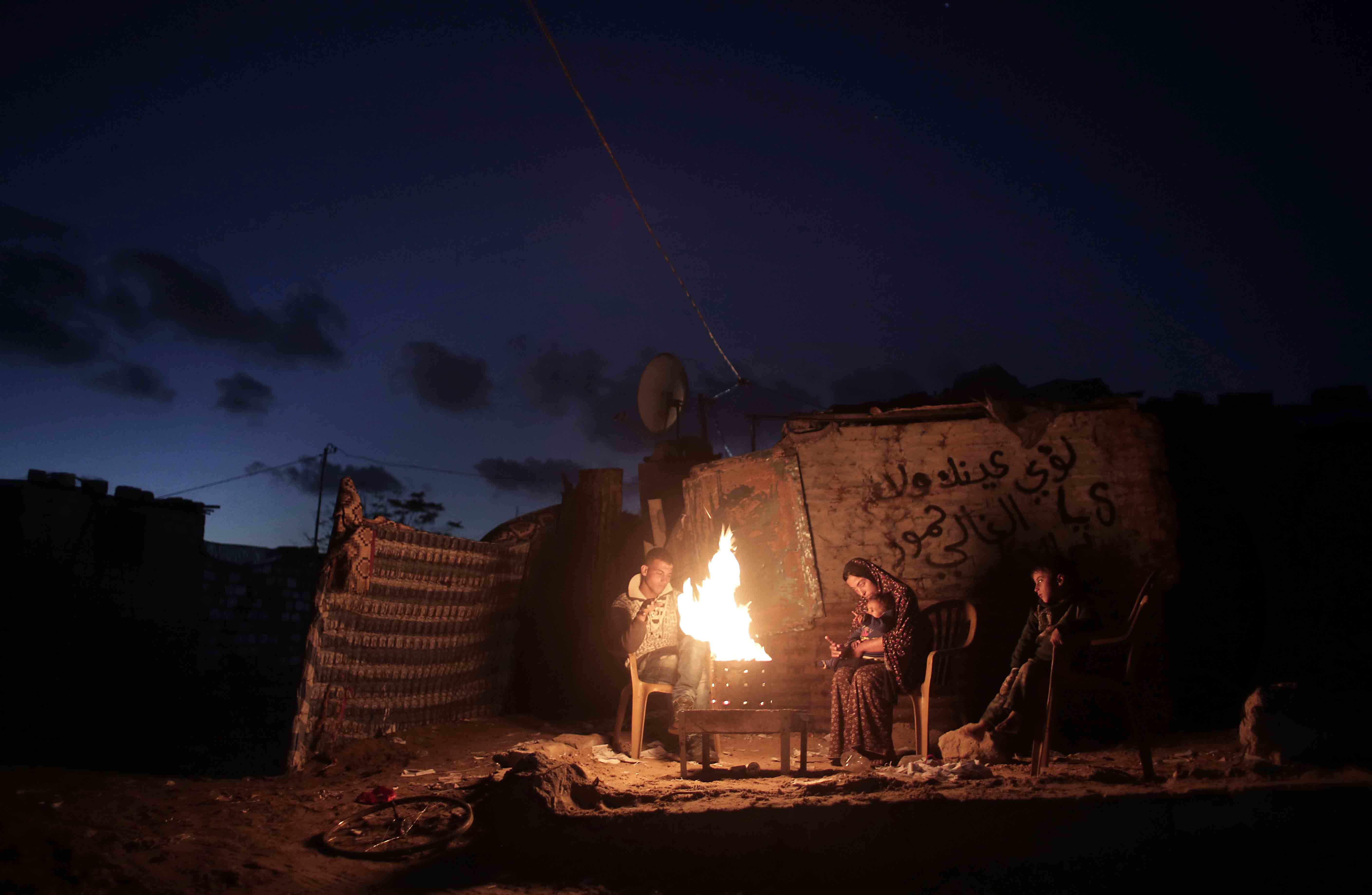 Palestine Lights Out