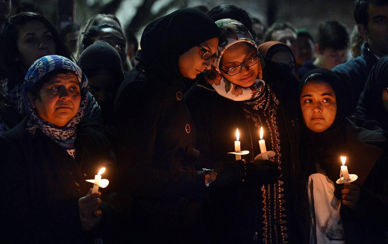 Chapel Hill vigil