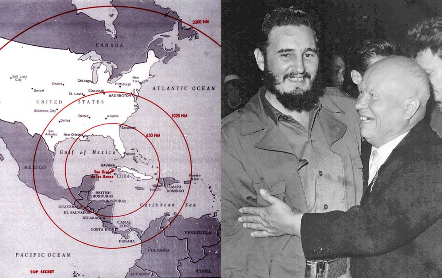 a history of the cuban missile crisis and the role of fidel castro in the sixties Cuban prime minister fidel castro, left, is embraced by soviet premier nikita khrushchev in the united nations general assembly on sept kennedy, anxious to maintain the appearance that the situation in the white house was business-as-usual, kept up his official schedule but met frequently.