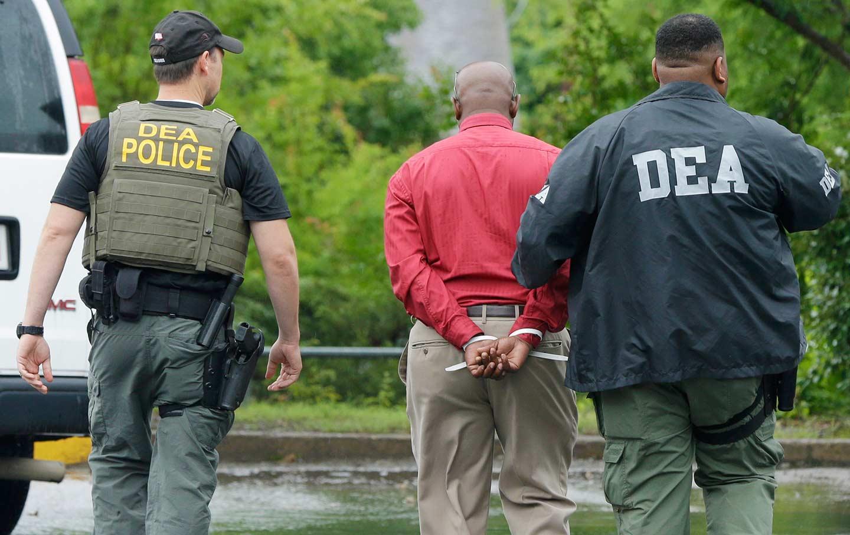 DEA arrest