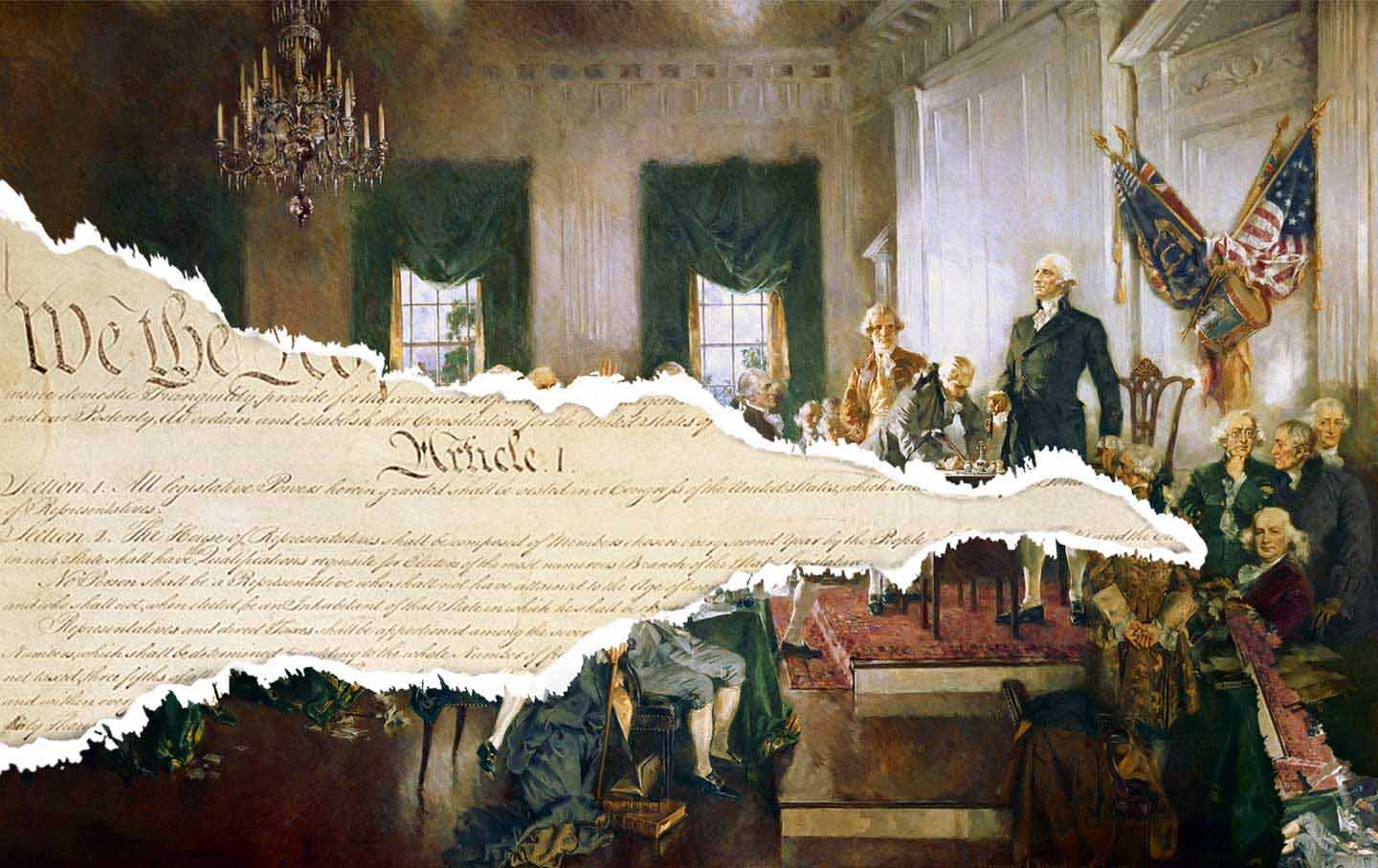 the us constitution is over 2 centuries old and showing its age