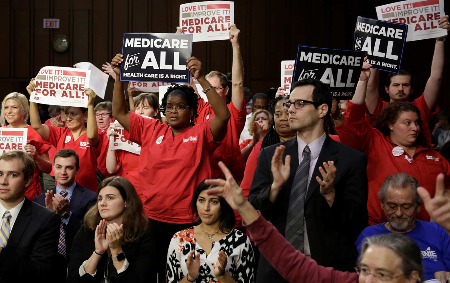 Medicare for All crowd