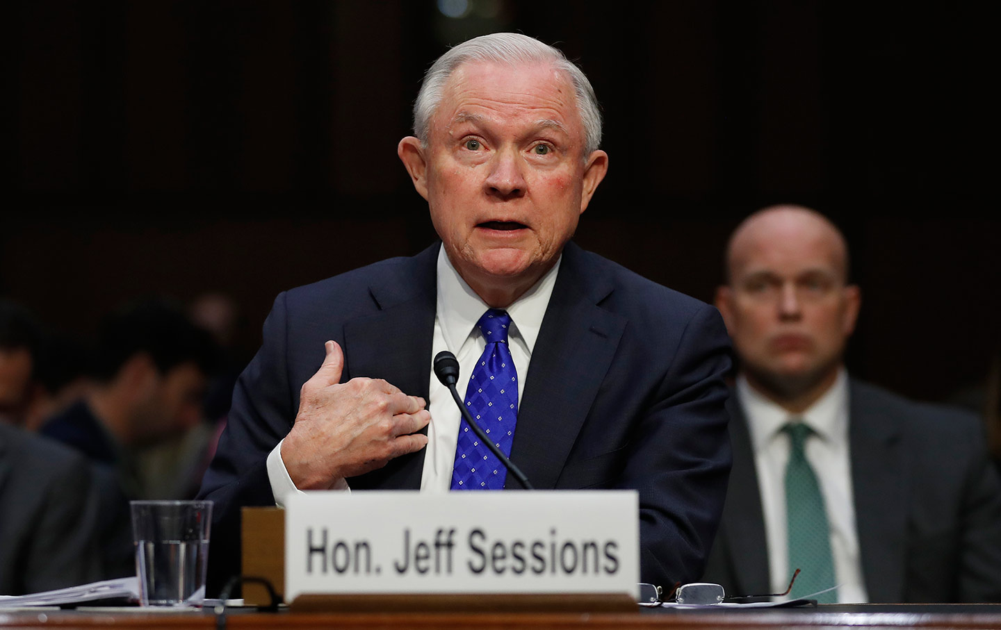 Jeff Sessions Senate Committee