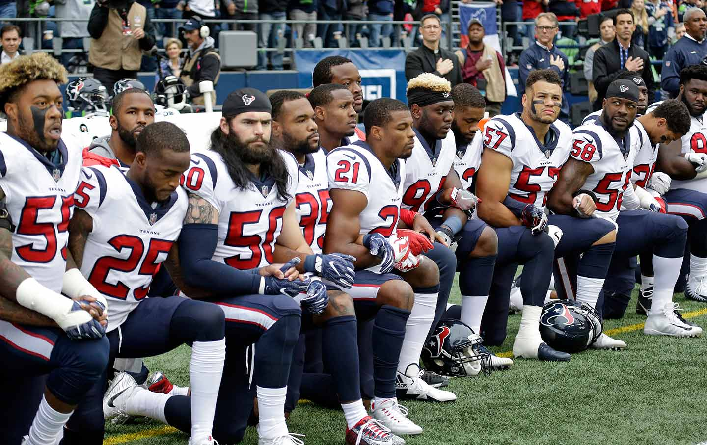 The Houston Texans Showed The Power And Dignity Of Black