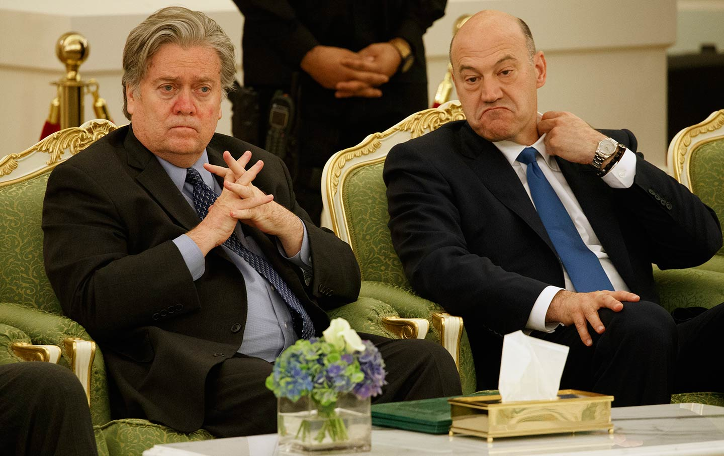 Bannon and Cohn