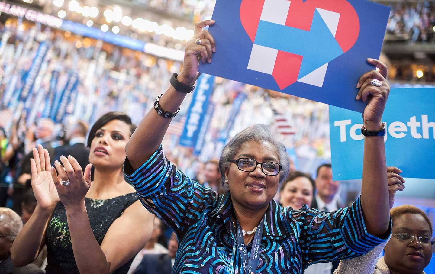 Donna Brazile at the DNC