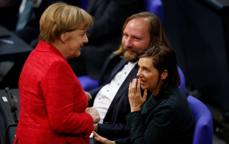 Merkel Parliament