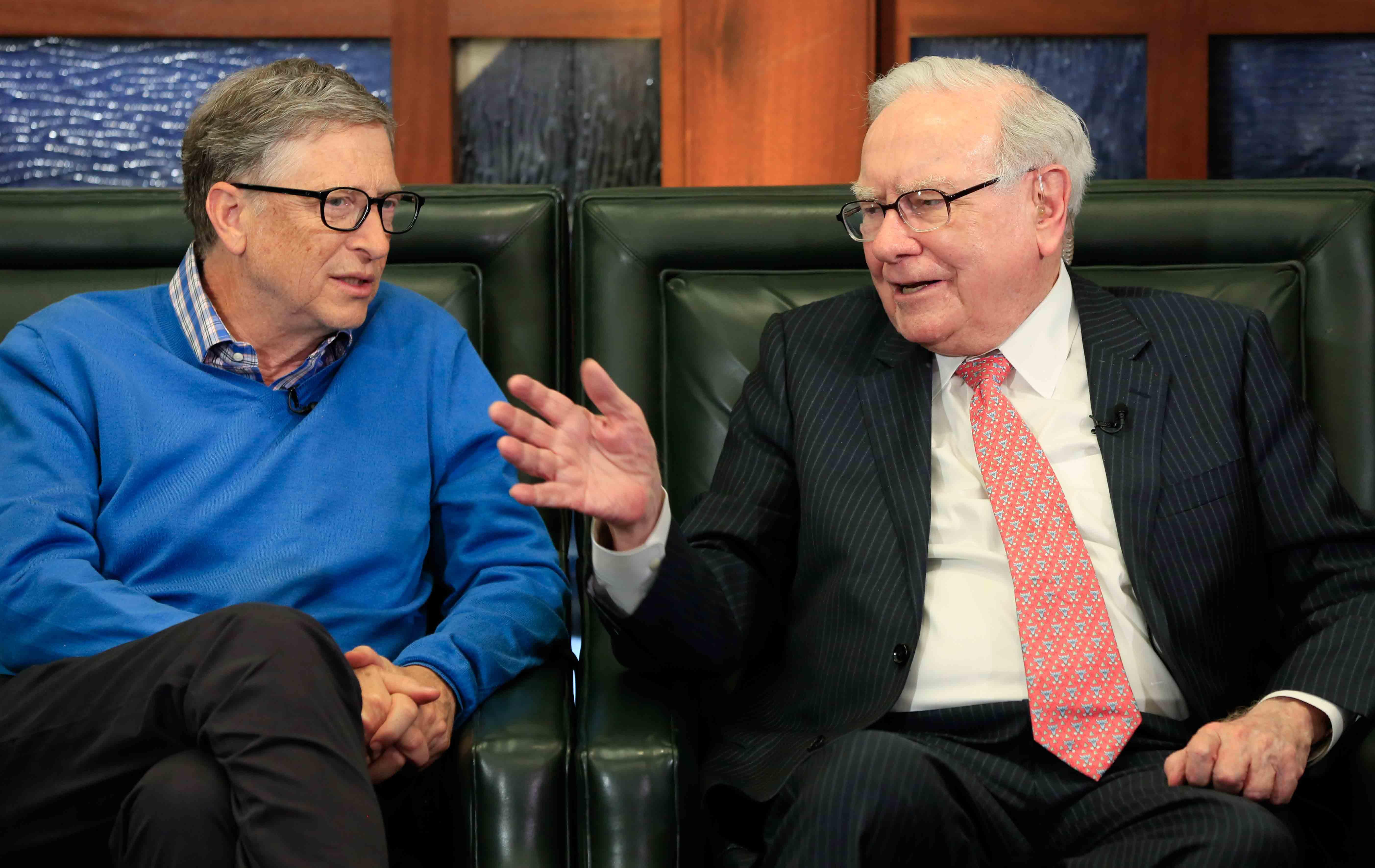 Bill Gates Jeff Bezos And Warren Buffett Own More Wealth Than The