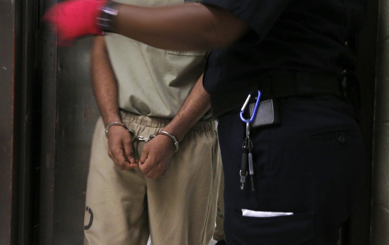 Cash bail inmate