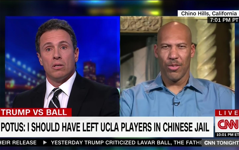 LaVar Ball on CNN