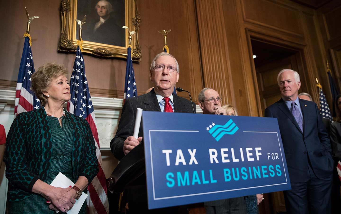 McConnell Republican Tax Plan