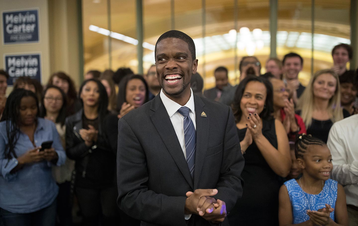 Melvin Carter Victory