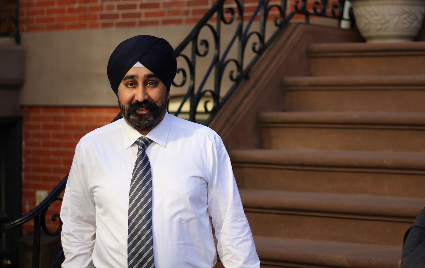 After wild 6-way race, NJ's first Sikh mayor humbled by win