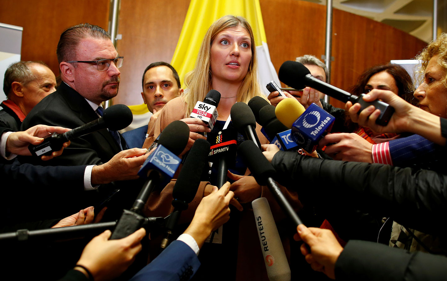 Beatrice Fihn, Executive Director of the International Campaign to Abolish Nuclear Weapons