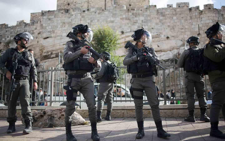 Jerusalem Israeli soldiers