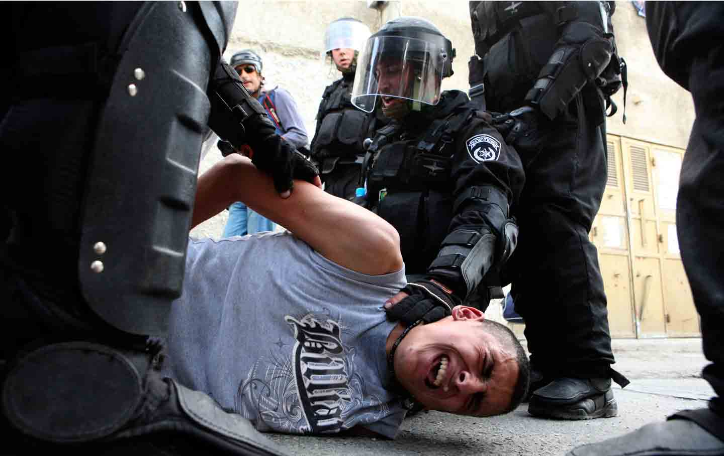 Israeli police Palestinian youth