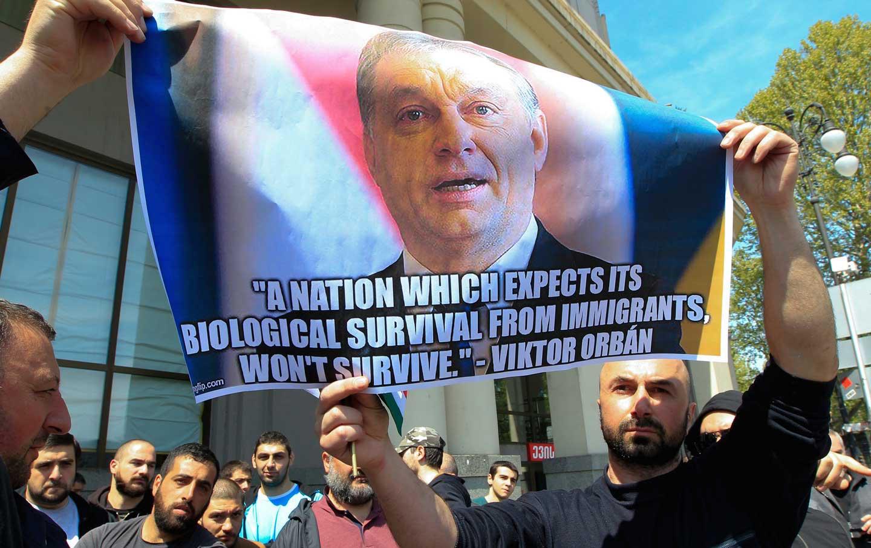 Viktor Orban poster