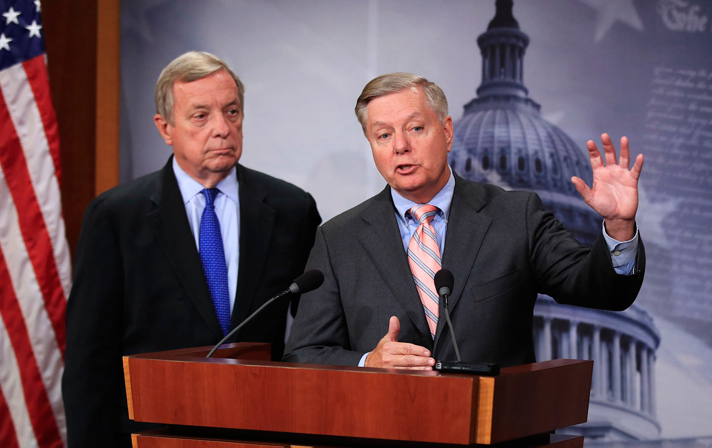 Senators Lindsey Graham and Dick Durbin