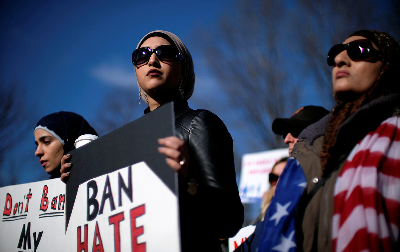 MuslimBan protest