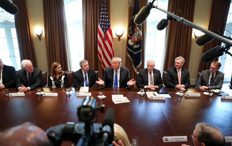 Trump Bipartisan Immigration Meeting