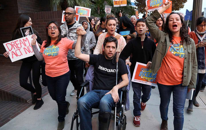 Ady Barkan DACA Protest