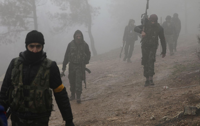 Turkish Soldiers in Afrin