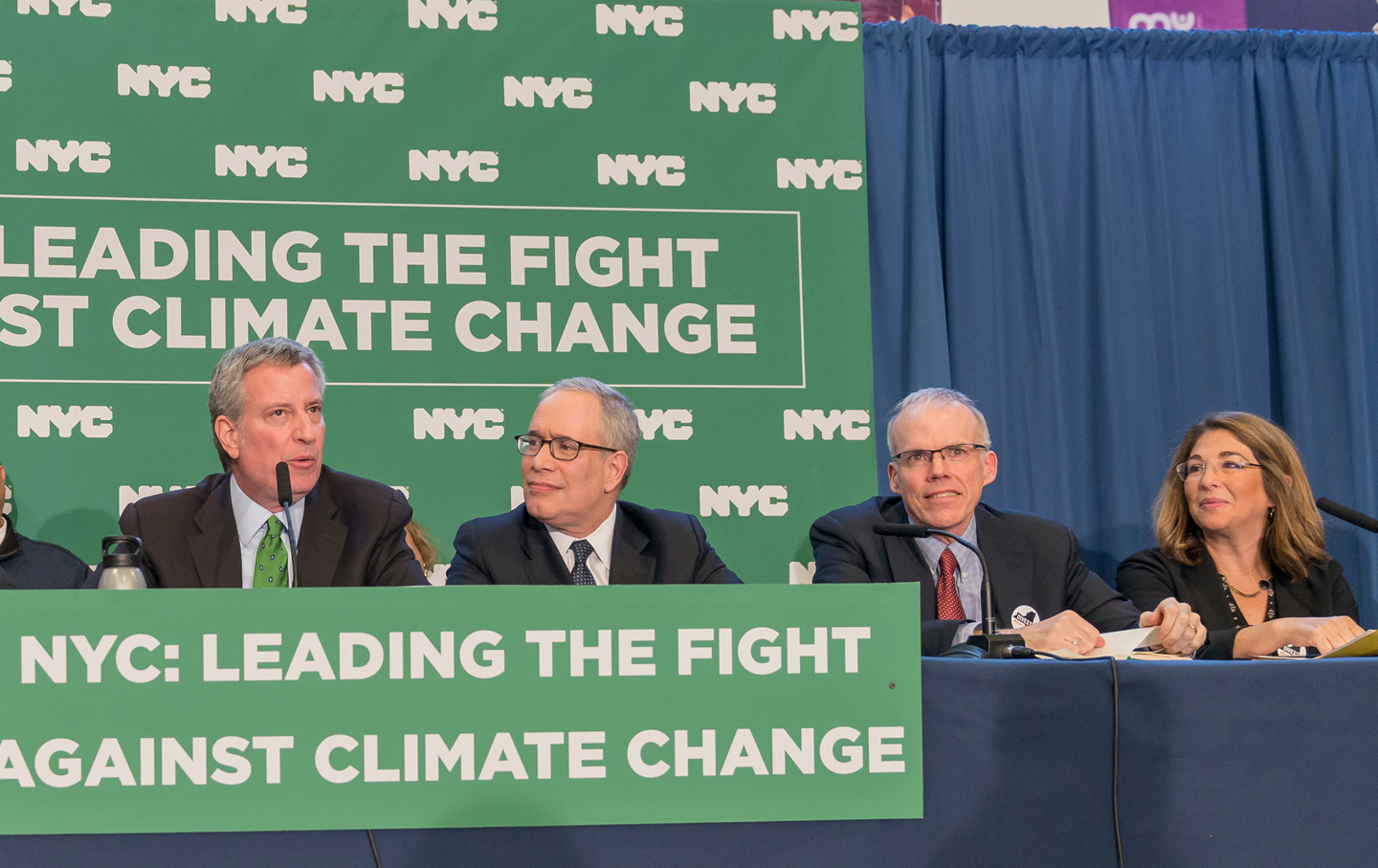 NYC sues oil companies over climate change