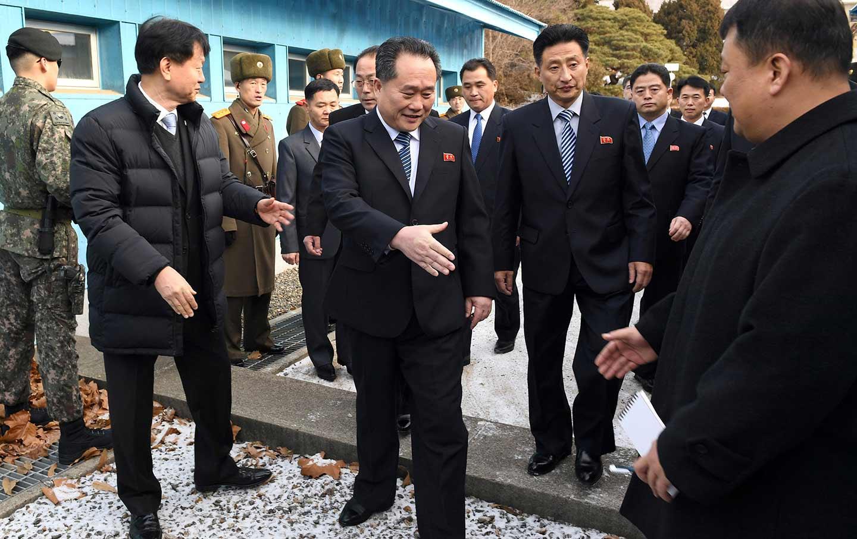 North and South Korea talks