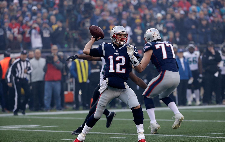 Tom Brady against the Jaguars