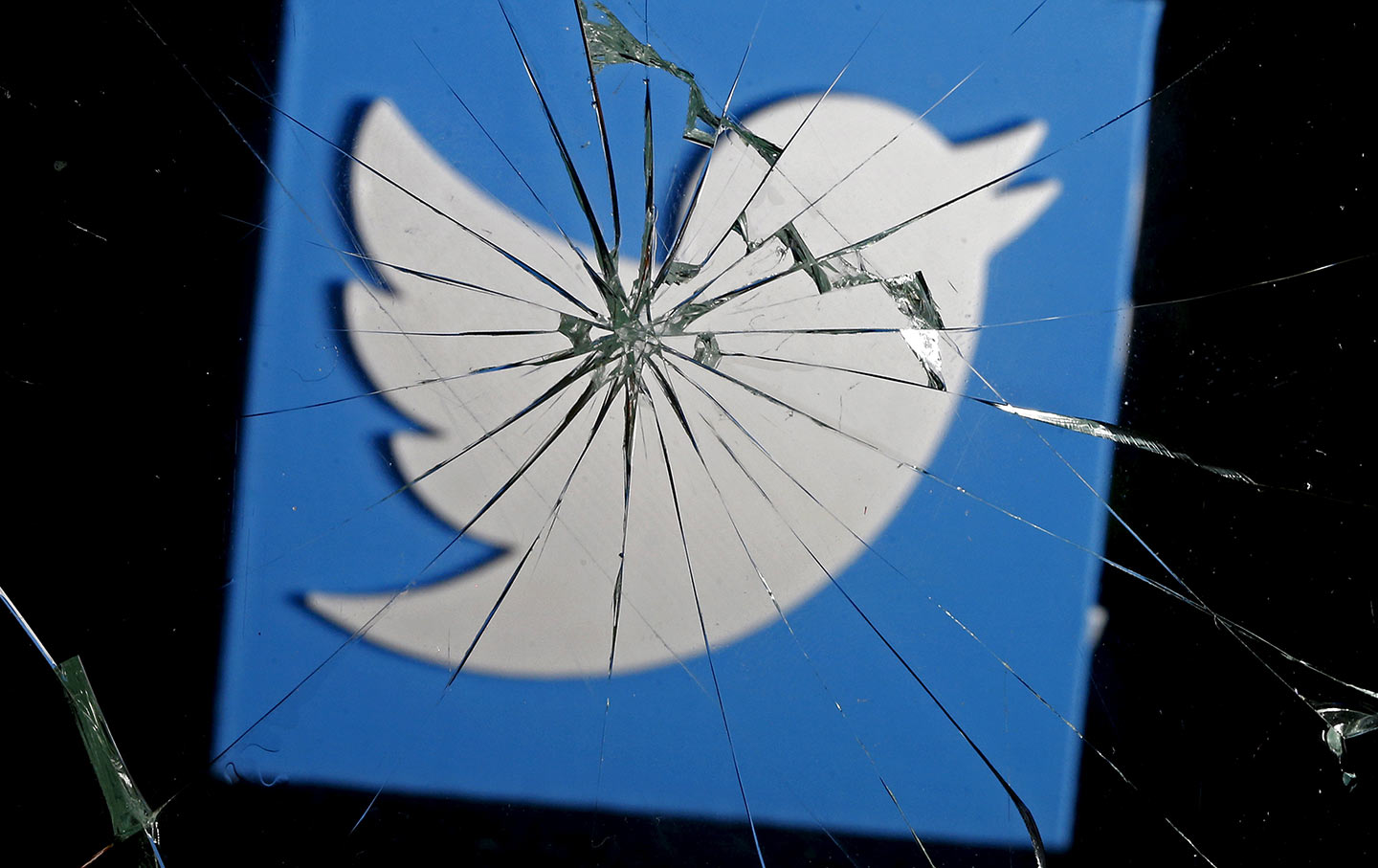 Twitter Broken Glass