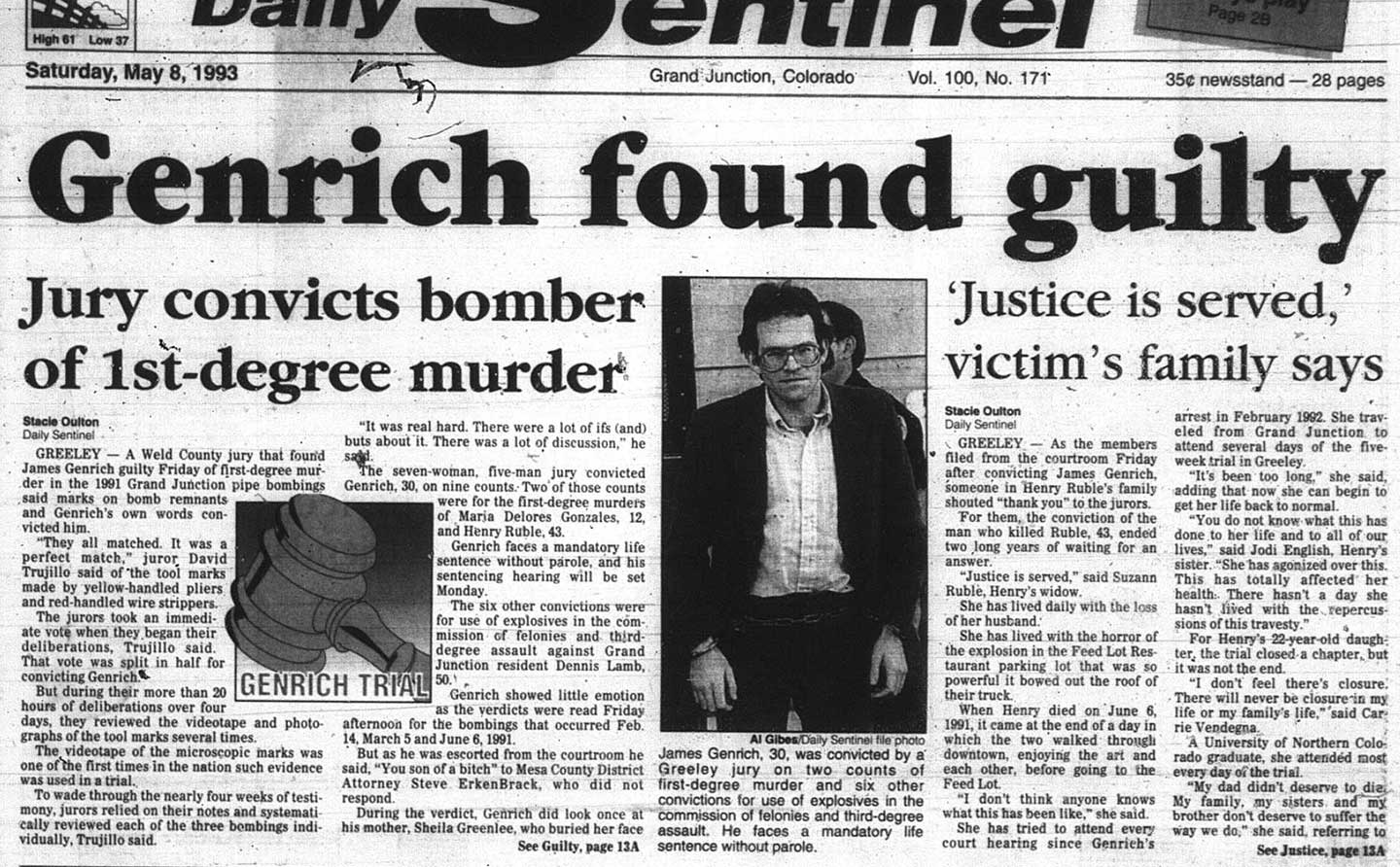 Forensic Science Put Jimmy Genrich in Prison for 24 Years