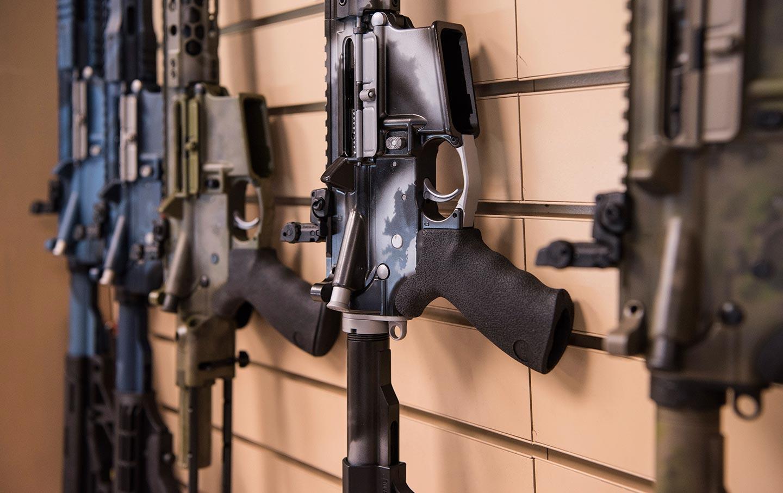 AR-15 guns