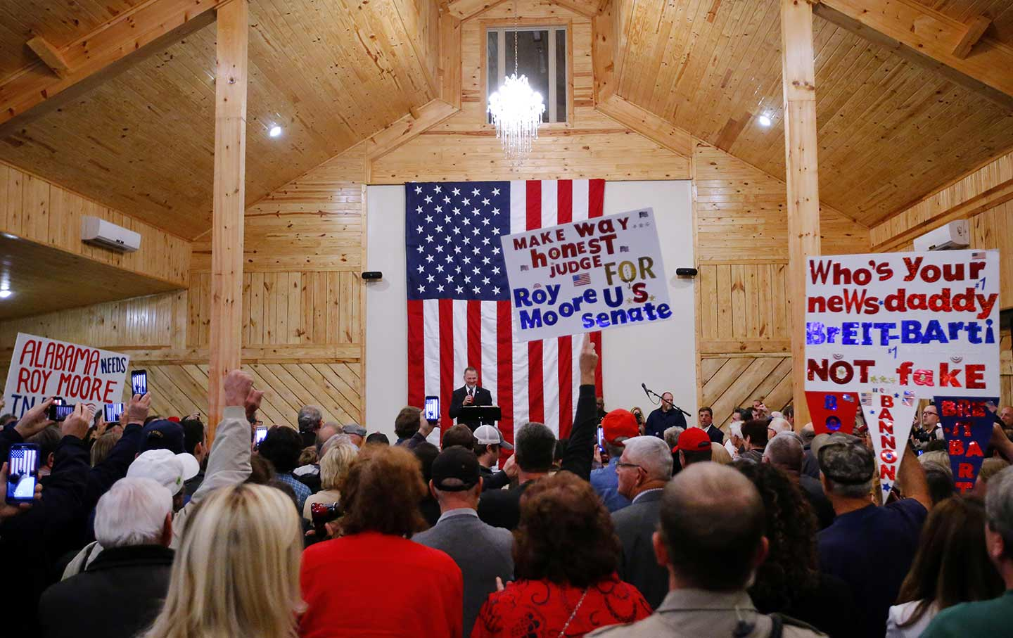 Roy Moore Campaign Rally