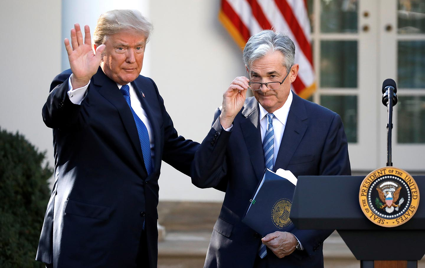 https://www.thenation.com/wp-content/uploads/2018/02/Trump-Jerome-Powell-rtr-img.jpg?scale=896&compress=80 /