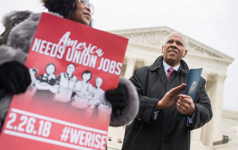 Janus v. AFSCME unions free speech case