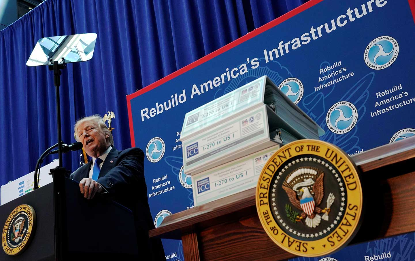 The Shrinking Ambitions of Donald Trump's 'Infrastructure' Plan