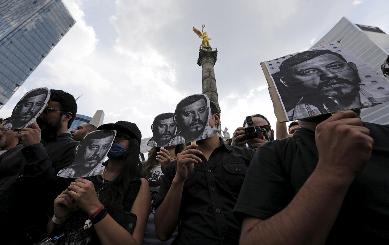 Espinosa Journalist Murdered Mexico Veracruz