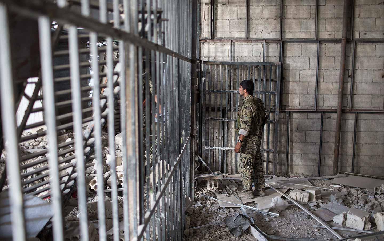 ISIS Prison Syria