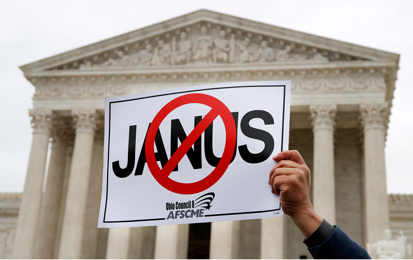Janus protest supreme court