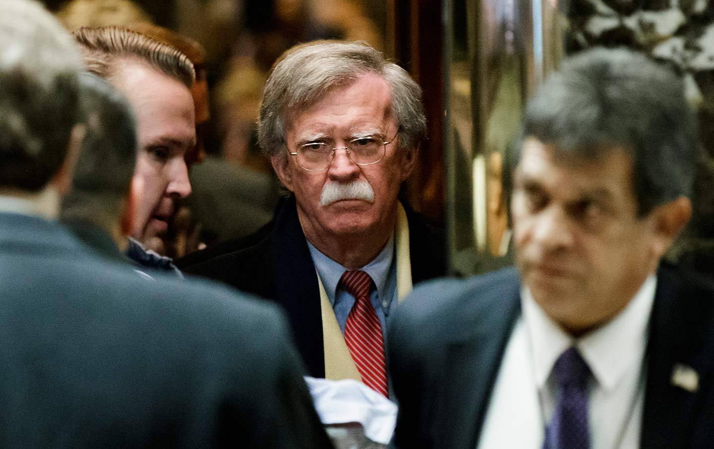 john bolton lobby trump tower