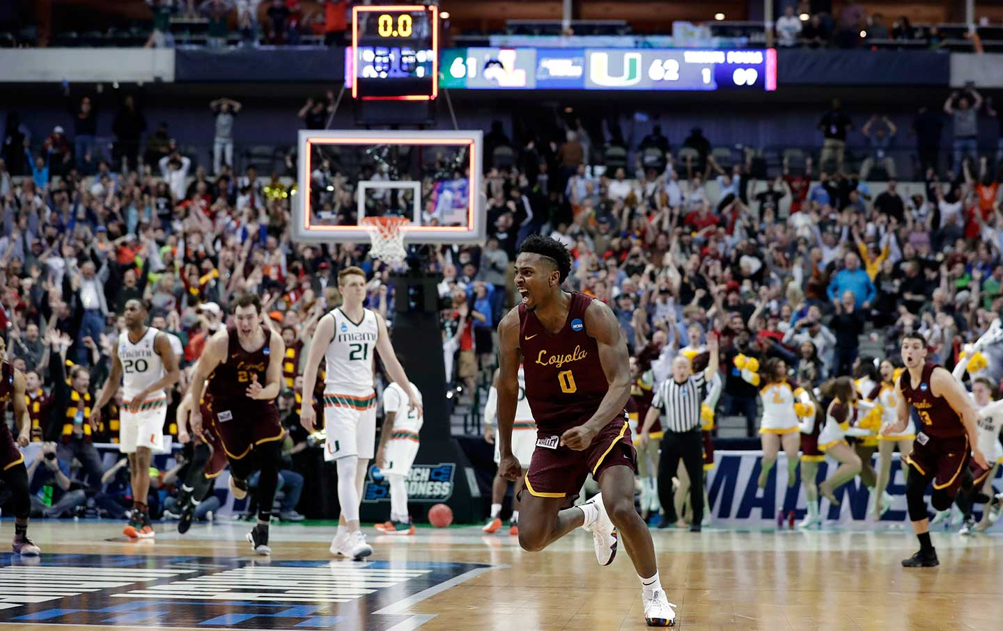 Loyola uses late basket to advance past Tennessee