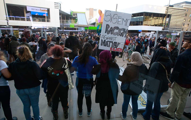 Sacramento Kings Protest