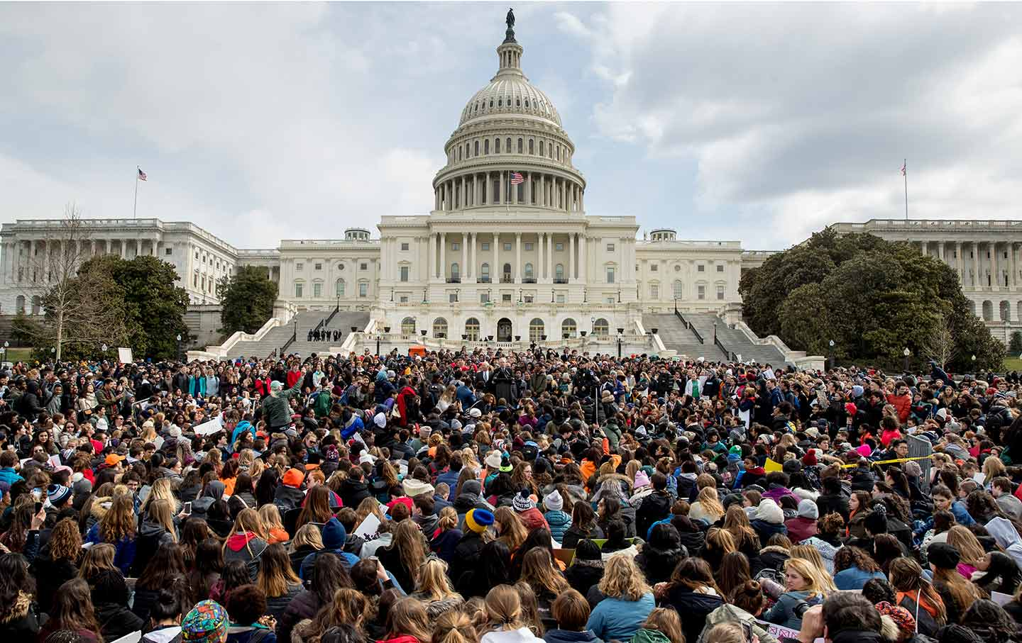 student walkout capitol